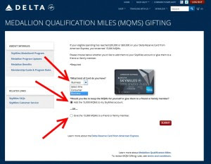 15,000 Delta Medallion Qualifying Miles (MQMs) added to my ...
