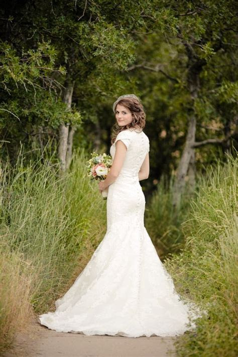 25  best ideas about Mormon Wedding Dresses on Pinterest