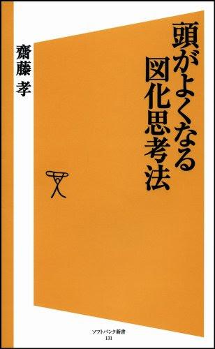 齋藤孝『頭がよくなる図化思考法』