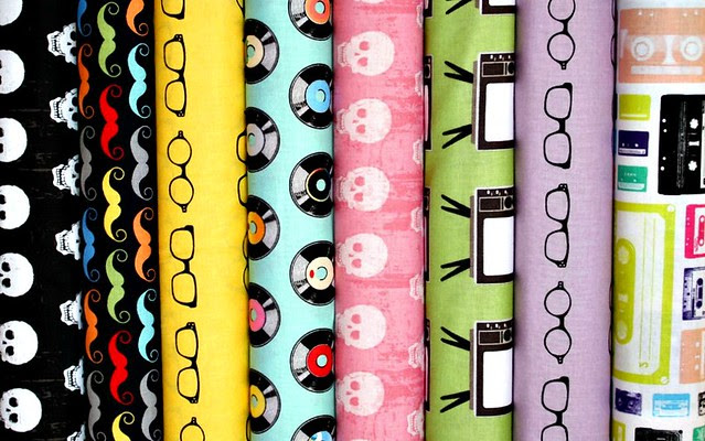 Geekly Chic Fabric Friday Giveaway!!