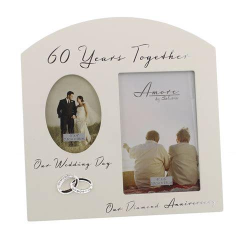 60th Diamond Wedding Anniversary Gift Ideas Double Wooden