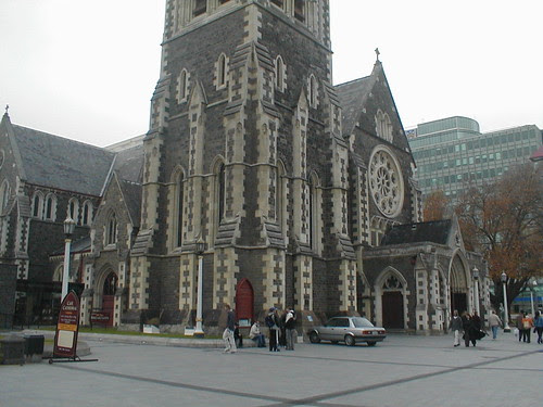 Christchurch cathedral in 2003