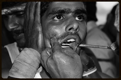 The Rod Piercers Of Mumbai by firoze shakir photographerno1
