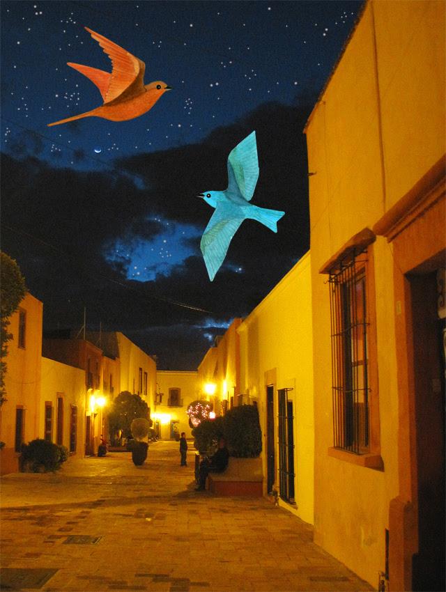 Downtown Queretaro at night