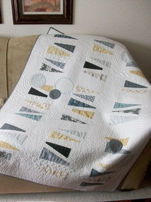 Modern Quilt (Janome quilt project:  Intermediate skills required)