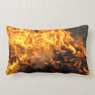 Burning Brush Pillow