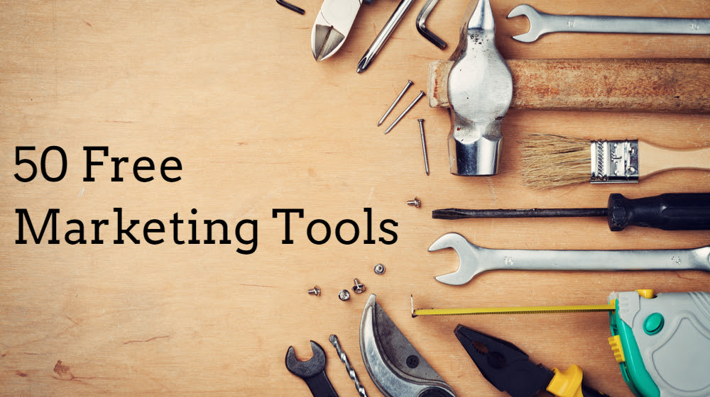 50 Free Marketing Tools Any Small Business Can Use