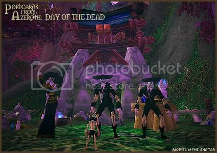 Postcards of Azeroth: Day of the Dead, by Rioriel Ail'thera