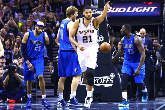 Mavericks vs. Spurs: Game 7 Score and Twitter Reaction from 2014 NBA Playoffs