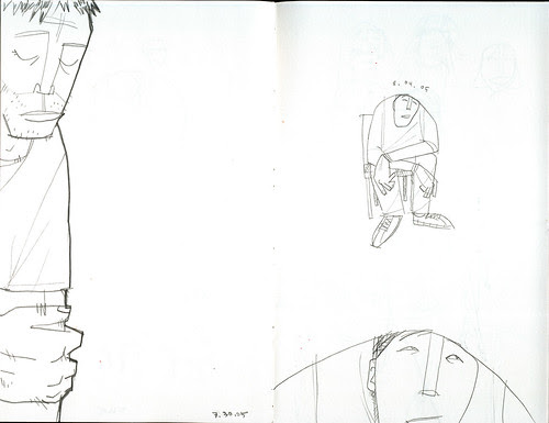 sketches of lonely dudes