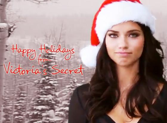 holiday victoria secret 1 Victorias Secret : Meilleurs Voeux 2012 des Top Modeles (video)