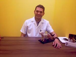 Veterinário amapaense Jorge Cruz (Foto: Cassio Albuquerque/G1)