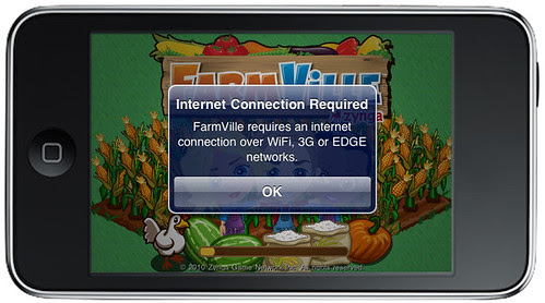 FarmVille without WiFi