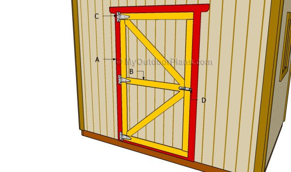 Making A Shed Door Diy Portable Storage Sheds