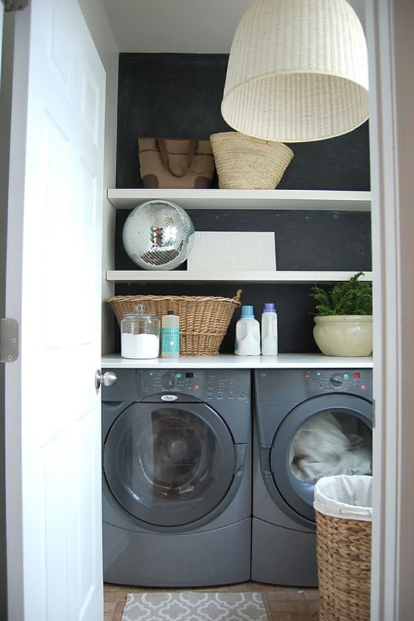 10 Black and White Laundry Room Design Ideas | Home Design And ...