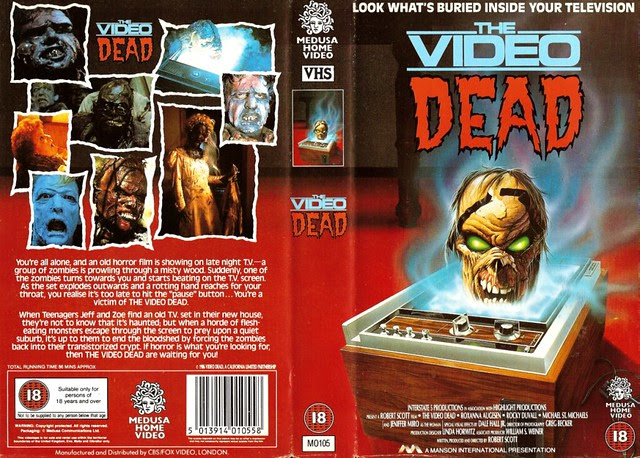 Video Dead (VHS Box Art)