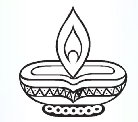 Best Of Diwali Colouring Pages