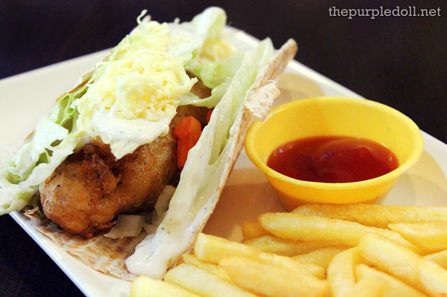1-piece Chicken Chubby Taco P75
