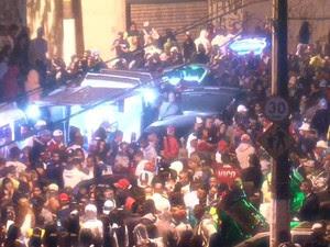 Baile funk toma conta das ruas na periferia e acende alerta no Vale (Foto: Reprodução/TV Globo)