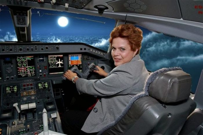 dilma_pilotando