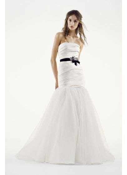 White by Vera Wang Fit and Flare Wedding Dress   David's