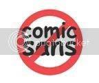 Ban Comic Sans