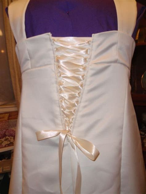 Sewing My Wedding Gown, Part Three: Making a Corset Back