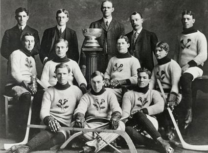 Thistles 1907 Stanley Cup holders