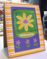 *Friends and Fun* Notecard