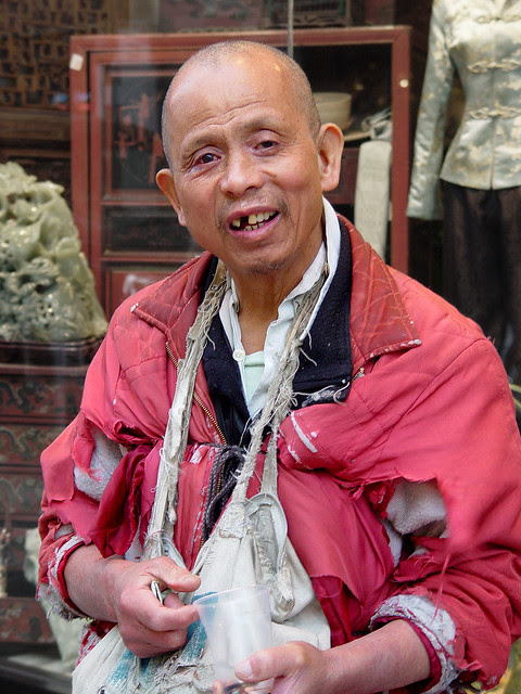 Homeless Man In Chinatown Sf Flickr Photo Sharing