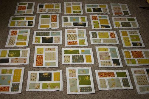FFA2 Kitchen Windows Quilt Progress