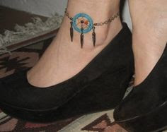 Comfortable 42 Indian Feather Ankle Tattoos Celtic Ankle Bracelet