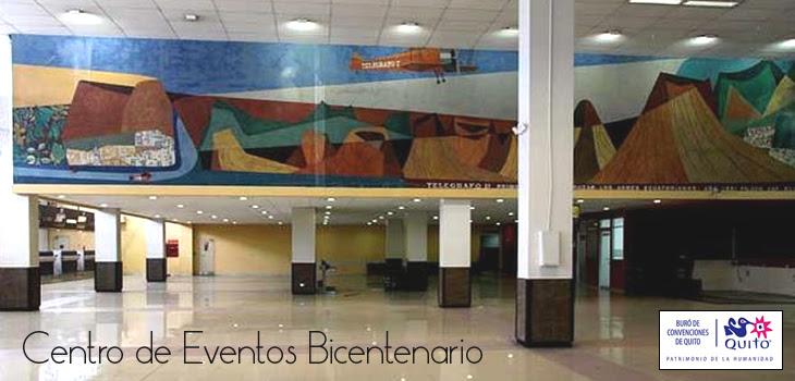 Resultado de imagen de centro de convenciones bicentenario quito
