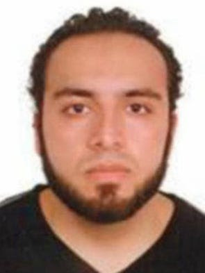 Ahmad Khan Rahami, who wanted for questioning in the