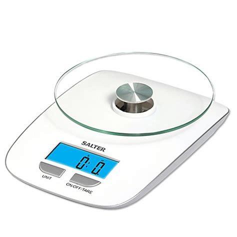 salter digital kitchen scale  white bedbathandbeyondcom