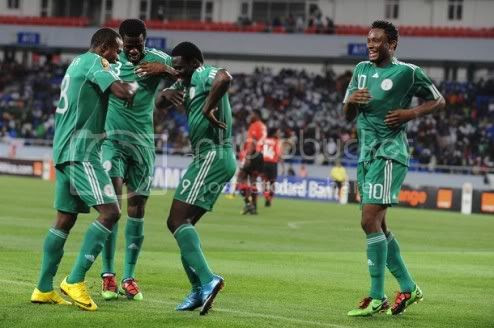 Nigéria termina sonho dos Mambas