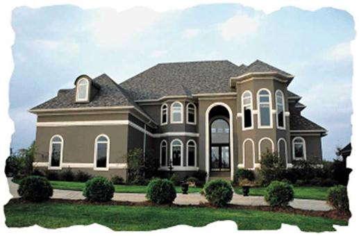 European House Plans, French Plans - Home Design Meadowview Manor ...