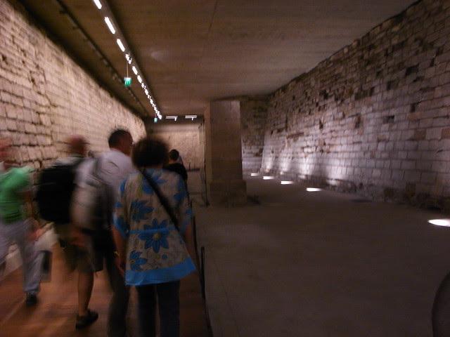 中世紀羅浮宮城壕