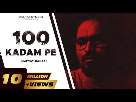 100 KADAM PE LYRICS - EMIWAY