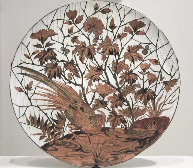 Ornamental dish (tazza), about 1880, Maison Giroux, Paris-France
