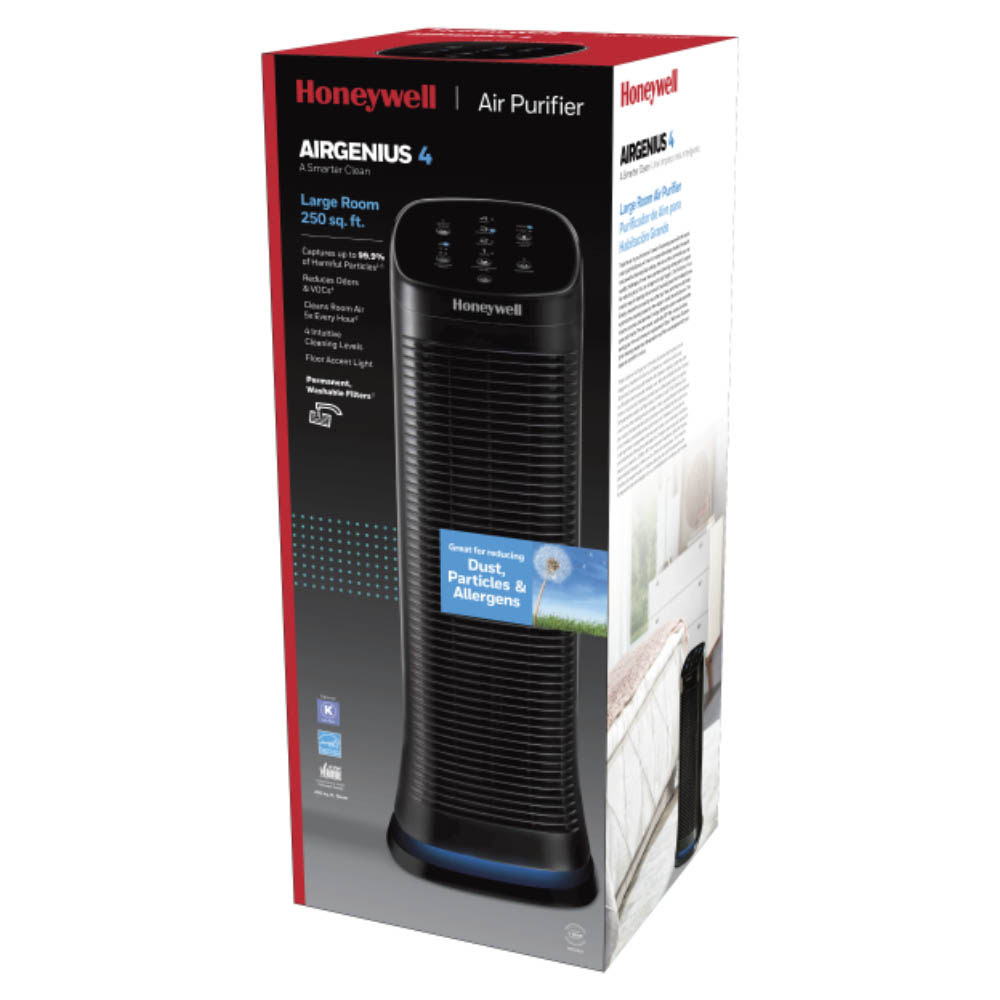 Honeywell AirGenius 4 Air Cleaner & Odor Reducer, HFD310