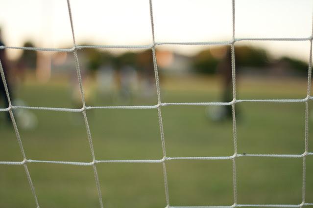 Soccer Practice - September 25,  2009