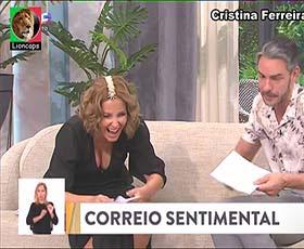 Cristina Ferreira sensual nas manhãs da Sic