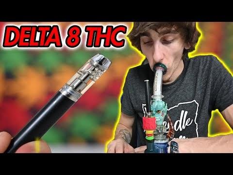 DELTA 8 THC Cartridge Bong Rips