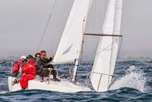 J/24s sailing ODESU south american sailing games