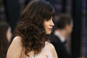 Zooey Deschanel survived on frugal wear as teen