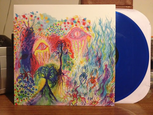 Spider Fever - S/T LP - Blue Vinyl (/100) by Tim PopKid