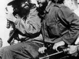 Fidel y Camilo a la entrada a la Habana el 8 de enero de 1959 luego del Triunfo de la Revolución