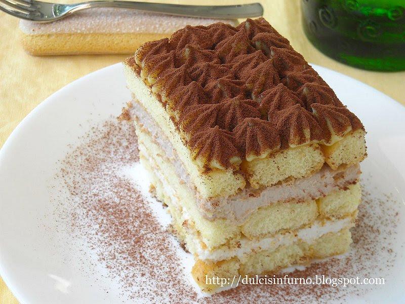 Tiramisù con Crema Pasticcera e Mascarpone al Cacao e Zenzero-Tiramisu with Pastry Cream