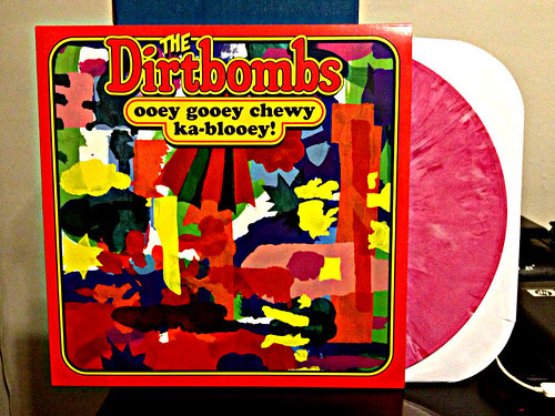 The Dirtbombs - Ooey Gooey Chewy Ka-blooey - Pink Vinyl (/200) by Tim PopKid